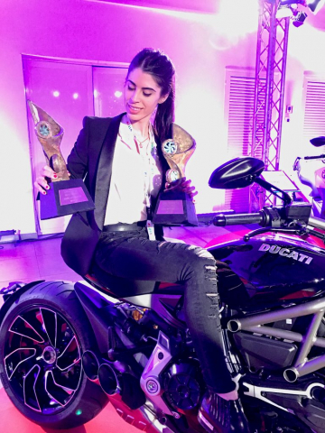 Adriana Pinto Schibsted Awards Ducati
